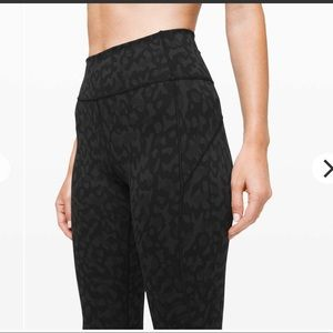 Lululemon In Movement Tight- Camo Deep Coal